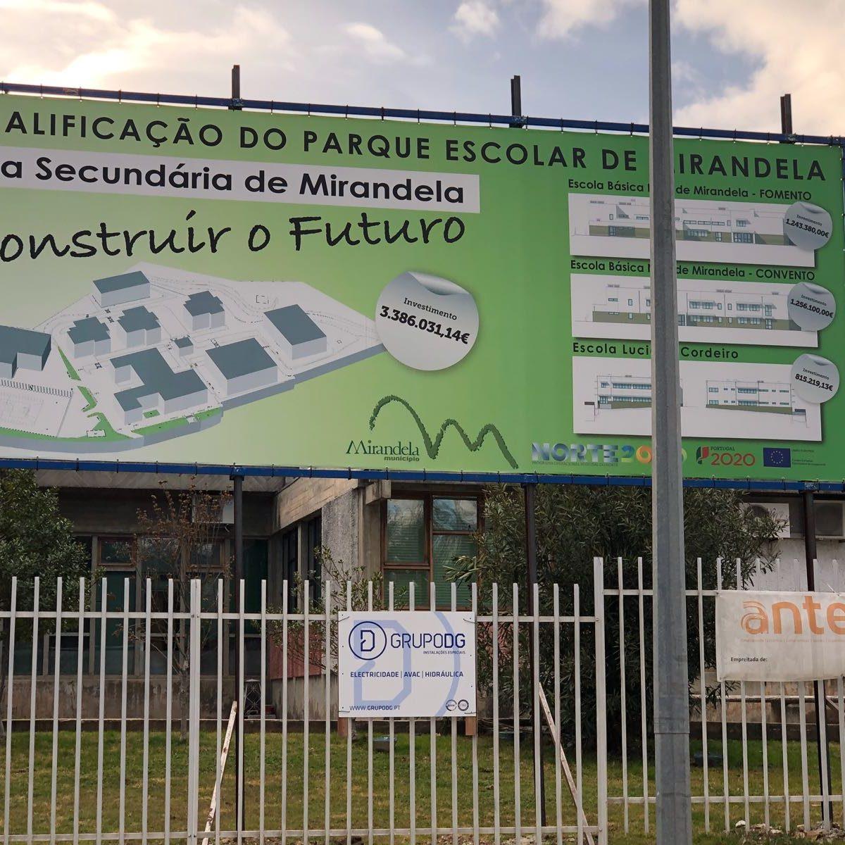 Secondary School of Mirandela