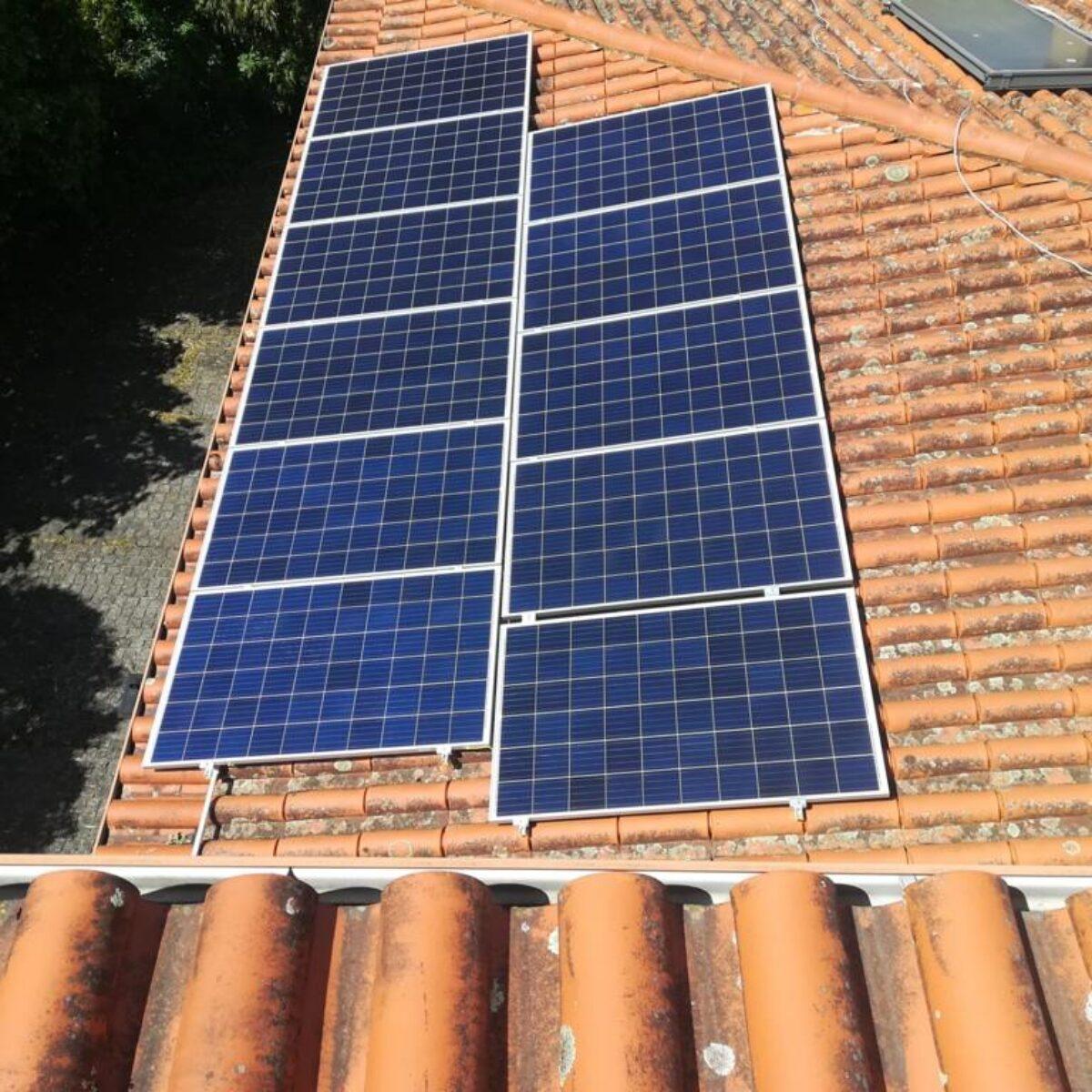 Maison unifamiliale solaire
